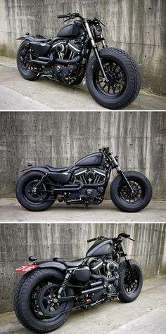 Harley Davidson Sportster-2009 #motocycles #motos #custom   caferacerpasion.com
