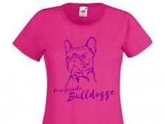 Hunderasse Damen T-Shirt: Französische Bulldogge - Tierisch-tolle-Geschenke