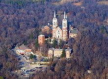 Holy Hill National Shrine of Mary, Help of Christians is a Roman Catholic shrine dedicated to the Blessed Virgin Mary. 1525 Carmel Rd., Erin, Wisconsin, USA