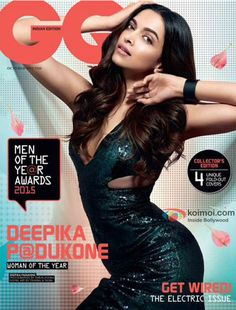 Deepika Padukone On The GQ Magazine Cover