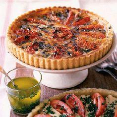 Tomato and Camembert Tart