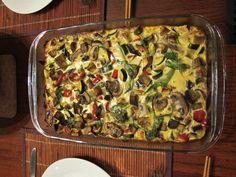 Crustless Vegetable Quiche || cleaninthekitchen.wordpress.com ||  https://cleaninthekitchen.wordpress.com/2013/05/29/crustless-vegetable-quiche-raw-pad-thai/ || #cleaneating #healthy #quiche #glutenfree #vegetarian