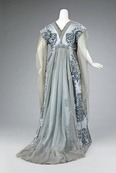 1910 Tea Gown, The House of Worth