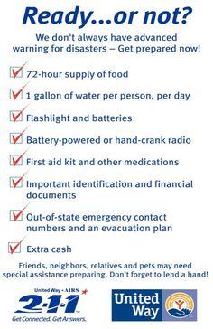 disaster preparedness  #emergency #disaster #disasterplan