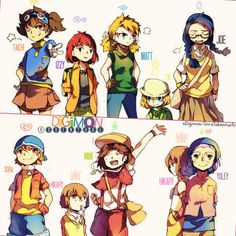 colors, adventure, and digimon