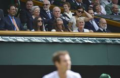 Don't forget they have the royal box at Wimbledon. Even Kate and Pippa are allowed in it, watching 'the Final'