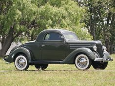1936 Ford DeLuxe Three-Window Coupe