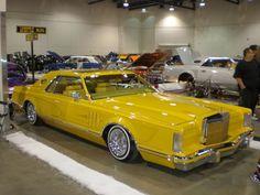 1978 Lincoln Continental Mark V Custom.