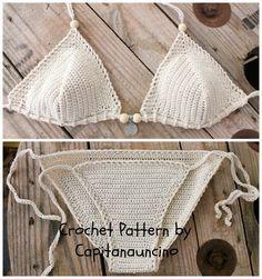 Este listado es PDF patrón de Bikini superior e inferior, no terminado de artículos:)  Si desea el producto final, ver por ejemplo aquí: