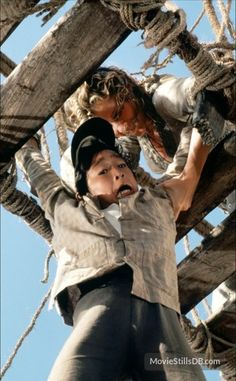 Kate Capshaw and Jonathan Ke Quan in Indiana Jones and the Temple of Doom (1984)