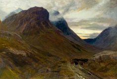 Glencoe by John MacWhirter (Scottish 1839-1911)