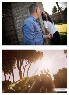 Engagement photography in Rome #weddingphotography #engagement #photography