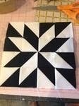 Modern Half-Square Triangle Quilt-a-Long Block 22