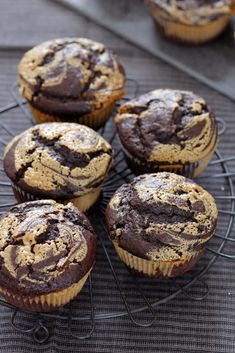 These peanut butter chocolate muffins are so soft, chocolatey and delicious, dotted with chocolate chips that melt in your mouth in every bi. Mini Desserts, No Bake Desserts, Dessert Recipes, Plated Desserts, Peanut Butter Muffins, Peanut Butter Recipes, Chocolate Peanut Butter Cupcakes, Double Chocolate Muffins, Muffin Recipes
