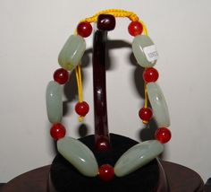 "1.1"" China Certified Nature Hetian Nephrite Jade Green Pearls Bracelets Pearl Bracelet, Bangle Bracelets, Jade Green, China, Pearls, Antiques, Nature, Ali, Amazon"