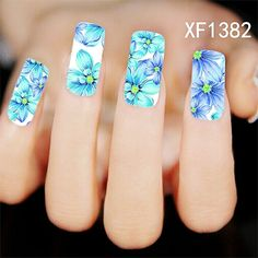2016 New Arrival Direct Selling Manicure Nails 2 Sheet Watermark Stickers Nail Jewelry Supplies Wholesale Flower Xf1382-xf1412♦️ SMS - F A S H I O N 💢👉🏿 http://www.sms.hr/products/2016-new-arrival-direct-selling-manicure-nails-2-sheet-watermark-stickers-nail-jewelry-supplies-wholesale-flower-xf1382-xf1412/ US $0.31
