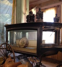 Abandoned Victorian hearse, Bodie, CA.