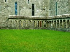 the abbey new and old, ireland | Flickr - Photo Sharing!