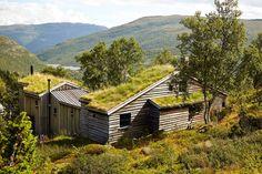 Arkitektur: Hytte på Tyin tegnet av arkitekt Ragnar Osnes Ragnar, Cabin, House Styles, Home Decor, Room Decor, Cottage, Home Interior Design, Cabins, Decoration Home