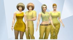 Check out this household in The Sims 4 Gallery! - #yellow #bananna #Tropical #new #sexy #family #love #chick #girl #Women #sims #party #hollywood #stars #Hawaii