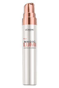 L'Oreal Paris Magic Lumi- Primer- I mixed this with my HD Matte Velvet and it lasted all day long. Makeup Primer, Makeup Dupes, Beauty Makeup, Face Primer, Makeup Set, Makeup Tricks, Face Makeup, Dewy Makeup, Glam Makeup