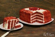 Tort Red Velvet rapid - gata in cateva ore, pas cu pas! Classic Cake, Kefir, Red Velvet, Tiramisu, Ethnic Recipes, Desserts, Food, Plating, Cakes