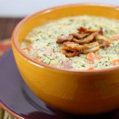 White Bean, Ham and Wild Rice Chowder