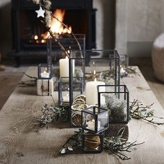 The White Company UK, table decoration candles