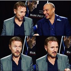 Liam Neeson in an interview for Mark Felt.