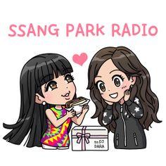 Park Sisters | 2NE1 fanart
