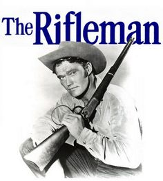 "The Rifleman an American Western television program starring Chuck Connors as rancher Lucas McCain and Johnny Crawford as his son, Mark McCain. It was set in the 1870s and 1880s in the town of North Fork, New Mexico Territory. The show was filmed in black-&-white, half-hour episodes. ""The Rifleman"" aired from September 30, 1958 to April 8, 1963 as a production of Four Star Television. It was one of the first prime time series on American television to show a widowed parent raising a child."