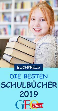 Der Deutsche Schulbuchpreis wurde verliehen! Wir stellen euch die Gewinner vor. Vielleicht habe ihr ja eines der Schulbücher zuhause..? German Language, Geo, Education, Reading Books, Knowledge, School Routines, School Children, Back To School, School