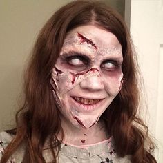 Pin for Later: You Won't Be Able to Sleep After Seeing These Horror Movie Makeup Looks Regan from The Exorcist