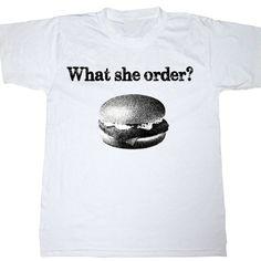 What she Order? Fish Fillet Shirt