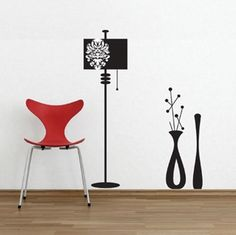 Removable Wall graphics are the perfect cost effective solution to decorate your home & office space. These large light fixture and vases vinyl wall stickers come in a set of three stickers that can be placed as you wish on your wall.  CoolWallArt Giveaway – Free Wall Decal to 5 Lucky Winners!ends on 08/21/2012 YOU HAVE : 8 days to win