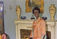 Vintage Black Glamour photo of Shirley Chisholm, November 1968 the day after she became the first black woman elected to Congress. Gil Elvgren, Gentleman, Shirley Chisholm, Carnegie Museum Of Art, Still I Rise, Vintage Black Glamour, Glamour Photo, Renaissance Men, My Black Is Beautiful