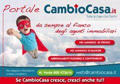 www.CambioCasa.it - Migliaia di annunci pubblicati da agenzie immobiliari.