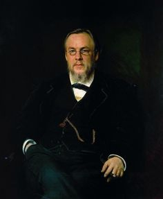 Иван Николаевич Крамской (1837-1887) Портрет доктора С. П. Боткина. 1880
