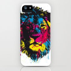 COLORED LION iPhone & iPod Case by D. H. Carter - $35.00