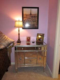 This picture was taken at one of those tiny apartments- this dresser served as book storage, underwear drawer, medicine cabinet, and about a million other things. >>> Learn more by visiting the image link. #CreativeHomeDecor