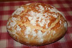 Un vrai pain rustique croustillant comme chez le boulanger.