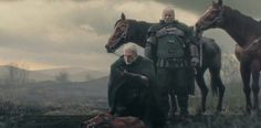 Geralt and Vesemir