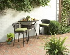 Dreaming about brunch on the allen + roth Mayers Bistro set.
