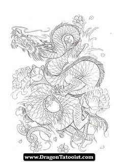Japanese Dragon Tattoo 10 - http://dragontattooist.com/japanese-dragon-tattoo-10/