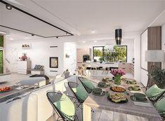 Zdjęcie projektu Padme 2 WOE1113 Bungalow, Table Settings, Villa, Table Decorations, House, Furniture, Poland, Home Decor, Summer