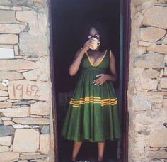 Fascinating African Shweshwe Fashion Outfits - isishweshwe
