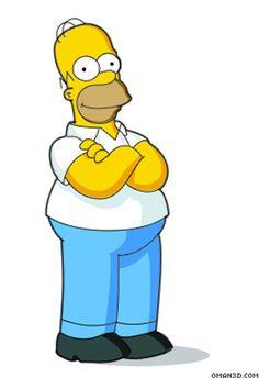 Drawing Homer Simpson