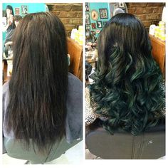 Mermaid hair. Need new hair today? I can book you in! #shoreditch