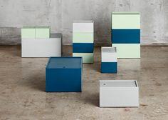 Joanna Laajisto bases storage boxes on paper-sizing system