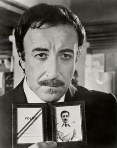 Peter Sellers as the great inspector Clouseau
